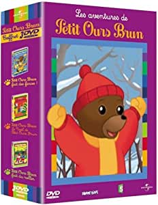 Coffret petit ours brun : Petit ours brun fait des farces / Petit ours brun fait du roller / Le Noël de petit ours brun