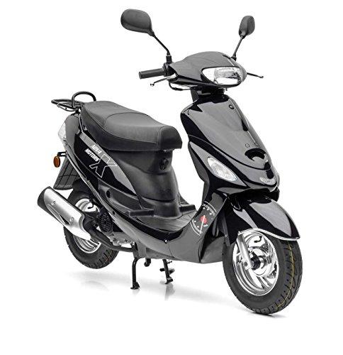 Nova Motors City Star ie 50 schwarz Euro 4-45km/h Mokick - fahrbereite Lieferung inklusive