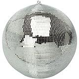 FXLab g007a para fiesta discoteca bola de espejos, color plateado