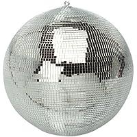 Soundlab - Bola de discoteca (300 mm, efecto espejo), color plateado.