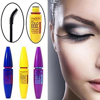 IGEMY Cosmetic Black Mascara Makeup Eyelash Waterproof Extension Curling Eye Lashes 12g (Purple)