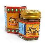 Tiger balm - Baume du tigre rouge 30 g - Le véritable baume du tigre extra fort