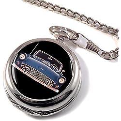 1955 Ford Thunderbird Full Hunter Pocket Watch