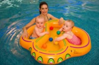 double twin child swim float floatie type swim seat