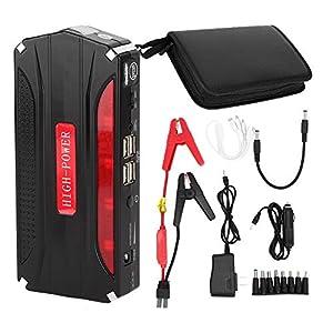 Car Jump Starter, 68800mAh 12V Car Jump Starter 4USB Salida Emergencia Power Bank Cargador de Batería para Tablet PC, PDA, Cámara, etc.
