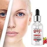 LCLrute Gesichtsserum Goji Berry Serum für Gesicht topisch mit Hyaluronsäure Vitamin