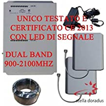 AMPLIFICATORE DUAL BAND X SEGNALE CELLULARE GSM E UMTS MQ 500