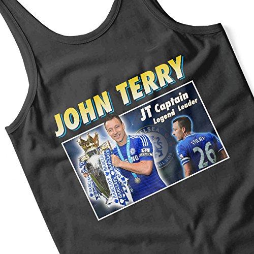 John Terry Captain Legend Leader Montage Women's Vest Black