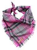 Pet Pooch Boutique - Bandana de búfalo para Perro, tamaño pequeño/Mediano, Color Rosa