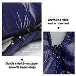 Bessport Mummy Sleeping Bag -10 Degree Celsius - 4 Season Backpacking Sleeping Bag for Adults & Kids – Lightweight Warm… 11