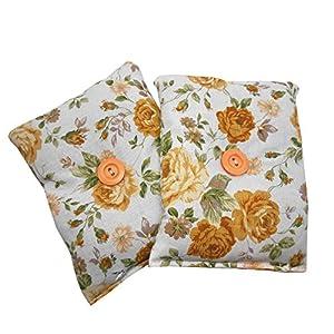 """ayuda a combatir el insomnio: Mini almohada """"Duerme Bien Classic"""" (Pack de 2) rellenas de semillas lavanda org..."""