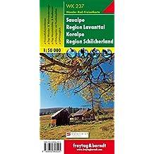 Freytag-Berndt Wanderkarte, WK 237 Saualpe - Lavanttal - Koralpe - Region Schilcherheimat - Maßstab 1:50 000 (freytag & berndt Wander-Rad-Freizeitkarten)