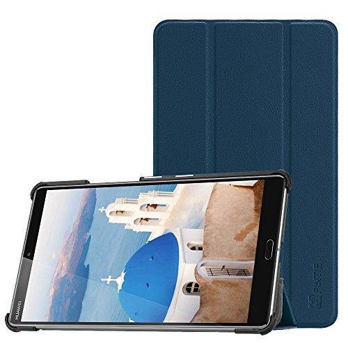 Fintie Hülle Case für Huawei Mediapad M5 8 Tablet - Ultra Dünn Superleicht SlimShell Ständer Case Cover Schutzhülle Auto Sleep/Wake Funktion für Huawei MediaPad M5 21,34 cm (8,4 Zoll), Marineblau