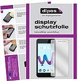 dipos I 2X Schutzfolie klar passend für Wiko Sunny 3 Folie Bildschirmschutzfolie