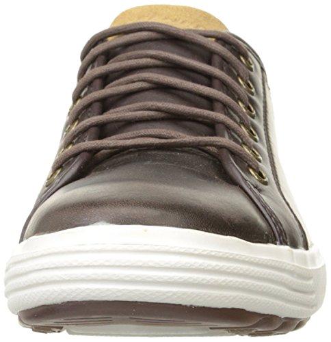 Skechers Porter Ressen, Baskets Basses Homme Marron