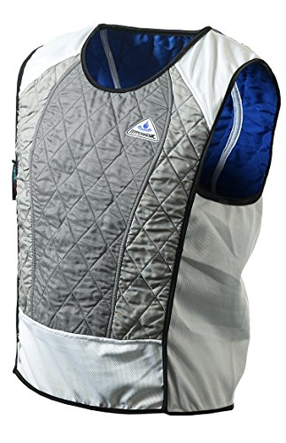 Techniche HyperKewl Ultra 6531.002.10 Motorbike Sports Vest Cooling Function Silver XL