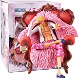 Anime One Piece Donquixote Doflamingo con sofá PVC Pop One Piece...