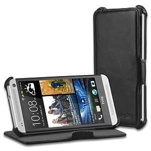 EasyAcc 73HTCONE Coque de protection avec Support pour HTC One Noir