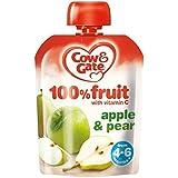 Vache & Portail Pomme Et De Poire De Fruits 100% Avec De La Vitamine C À Partir De 4-6 Mois 80G - Lot De 2