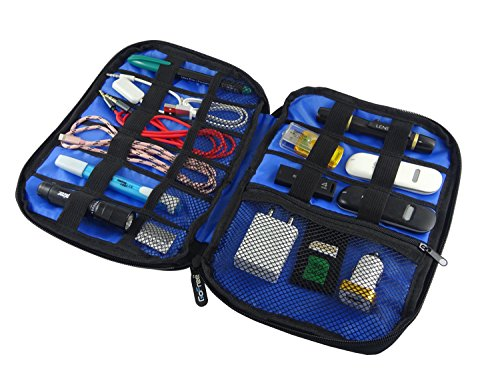 finest selection 16144 6fa0f GoFree Digital Accessories Organizer Pouch / Case - For Multiple USB  Cables, Charger, Power Bank, SD Cards, Pen Drive, Battery, Stationary,  Emergency ...