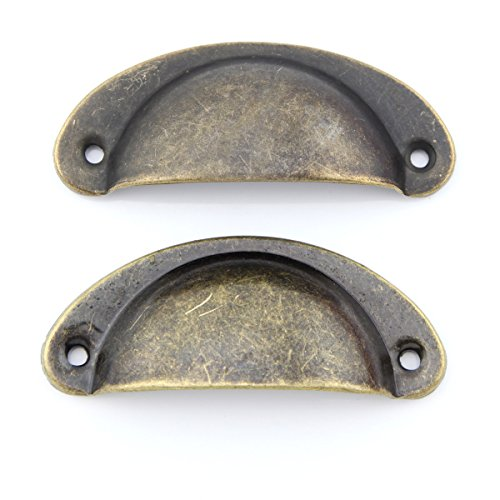 owfeel-2pcs-8cmx32cm-oil-rubbed-antique-bronze-diecast-cabinet-hardware-bin-cup-drawer-handle-pull