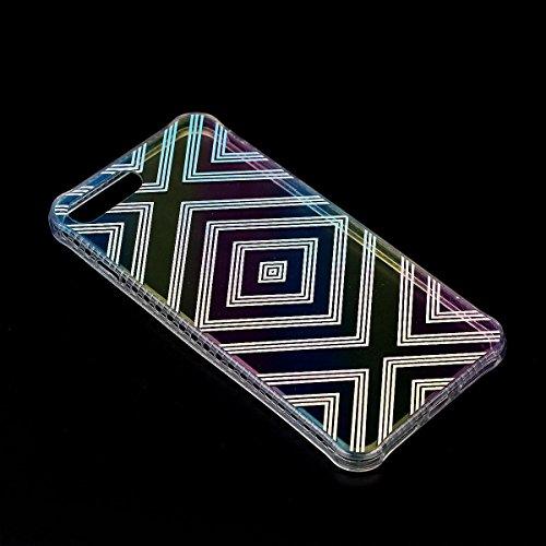 iPhone 6S Plus Hülle, iPhone 6 Plus Hülle, Gift_Source [ Liebe Rose ] Ultra Dünn Weiche Silikon Schutzhülle TPU Bumper Case Schutz Handy Hülle Case Tasche Etui Backcover Slim case für iPhone 6S Plus/6 E1-Bunter Würfel