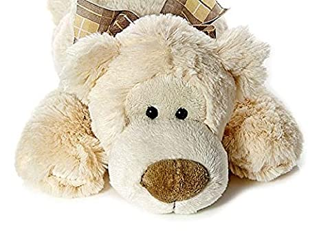 38cm Stuffed Animal Polar Bear Teddy Soft Toy Suitable for Newborn Baby Boy or Girl