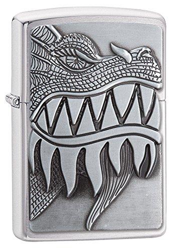 zippo-mechero-con-acabado-cromado-cepillado-resistente-al-viento-diseno-de-dragon-que-escupe-fuego