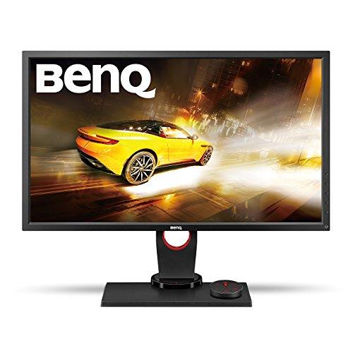 BenQ XL2730Z 68,58 cm (27 Zoll) Monitor (VGA, DVI-DL, HDMI, 144Hz, DP, 1ms Reaktionszeit) schwarz/rot (Abdeckung Switch Staubschutz)