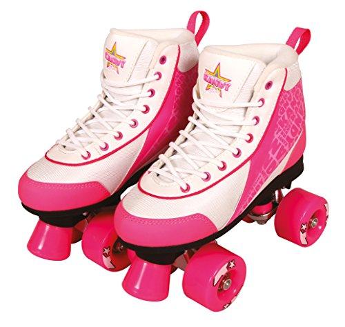Preisvergleich Produktbild Kandy Skates Rollschuhe Disco Roller Rollserskates Quadskates Strawberry Kisses (34)