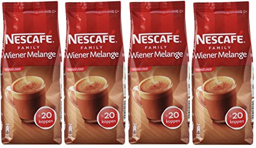 Nescafé Family Wiener Melange Instant / Löslicher Kaffee 4 x 270gr