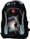 BRUBAKER Rucksack für Sport Schule Uni 19 x 30 x 45 cm, 22 Liter schwarz / blau