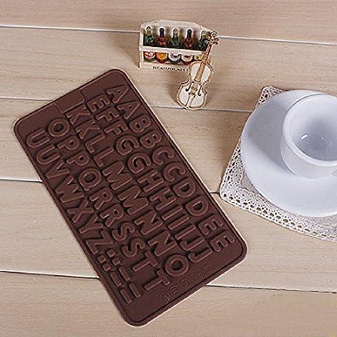 Lettre biscuit gâteau au chocolat Cookie Cutter moule Outils silicone aléatoire Home
