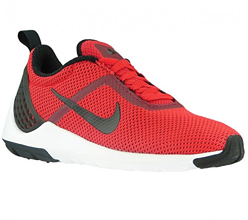 Nike Herren Lunarestoa 2 Essential Laufschuhe, Blau, 44 EU Multicolore (University Red/Black-Tm Rd-Wht)