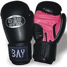 Box-Handschuhe Carbon Look Boxen Thaiboxen HERREN DAMEN Kinder Jugendliche Junioren M/ädchen Muay Thai Profi Delux BAY/® fresh mesh Boxhandschuhe schwarz ROT 12 Unzen mit Netz-Gewebe PU-Leder Kickboxen UZ OZ