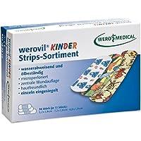 werovil Kinder Strips-Sortiment Kinderpflaster wasserabweisend (36 Stk/Pkg) preisvergleich bei billige-tabletten.eu