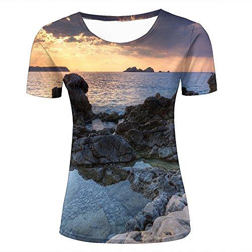 Wellcoda SchöN In Farbe New Wave Sea Ocean Nature Women Long Sleeve T-shirt New Tops & Shirts
