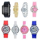 Codice Analogue Multicolor Dial Women's Watch - Codice-Combo-08-Girls-Watch-Jewelex