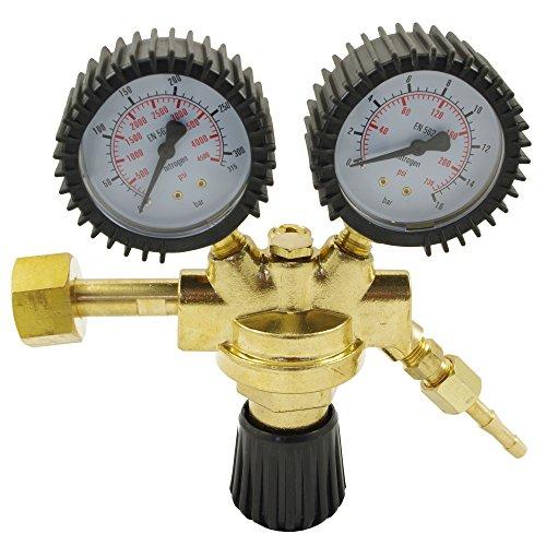 Ipotools Druckminderer Druckregler Stickstoff Druckmanometer Manometer N2