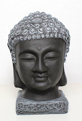 buddha-kopf-schwarz-schiefergrau-garten-deko-figur-stein-statue-frostsicher