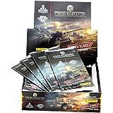 Panini Sammelkarten World of Tanks Display Box mit 24 Boostern = 144 Karten + Bonuscodes für Premium - Spielzeit