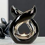 """Design lampada aromatica """"Vienna candela lampada ad olio in ceramica"""