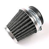 Latinaric Motorrad Doppelte Schicht Luftfilter Pilz Kopf Motor Reiniger Universal (35MM, 39MM, 42MM, 46MM, 48MM, 50MM, 52MM, 54MM, 60MM)