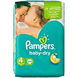 Pampers Baby Sec Taille 4 Pack Essentiel 44 Couches -