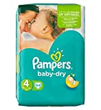 Pampers Baby Dry Größe 4 Essential Pack 44 Windeln