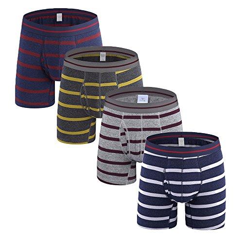Fablight Herren Boxershort A: Multicolored Pack of 4