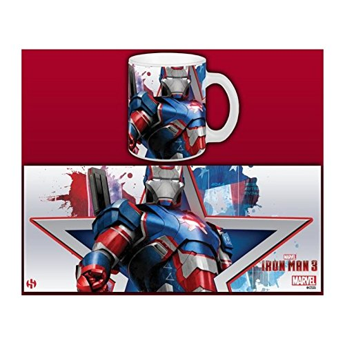 Semic Distribution Smug040 Tasse Iron Man 3 Iron Patriot