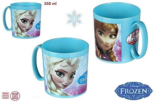 DISOK - Taza Frozen 350Ml - Tazas Frozen Frocen, Regalos para Niños Infantiles. Regalos de Cumpleaños, Bautizos