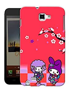 "Humor Gang Game Cute Art Printed Designer Mobile Back Cover For ""Samsung Galaxy Note 1"" (3D, Matte Finish, Premium Quality, Protective Snap On Slim Hard Phone Case, Multi Color)"