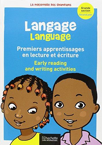 Langage Premiers Pas en Lecture et criture (Bilingue) Maternelle Grande Section par Collectif d'Auteurs